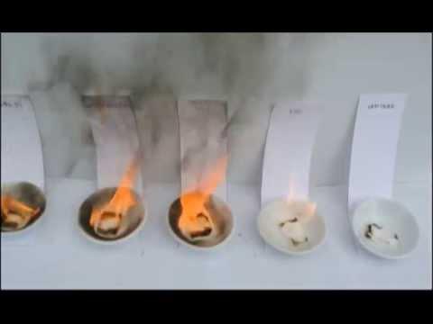การเผาไหม้ของน้ำมันเชื้อเพลิง 5 ชนิด