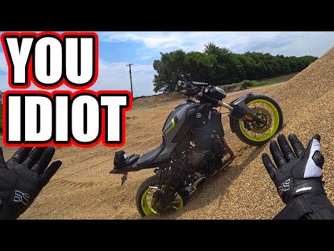 FZ-07 OFF Road FAIL