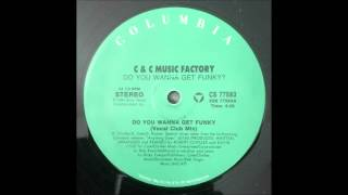 C & C Music Factory - Do You Wanna Get Funky (Vocal Club Mix) 12""