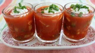 Garden-fresh Gazpacho