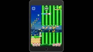 Игра Super Mario Run геймплей (gameplay) HD качество