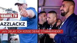 """Azzlackz auf dem splash!: """"Jan Delay, ich küsse deine Stimmbänder"""" (16BARS.TV)"""