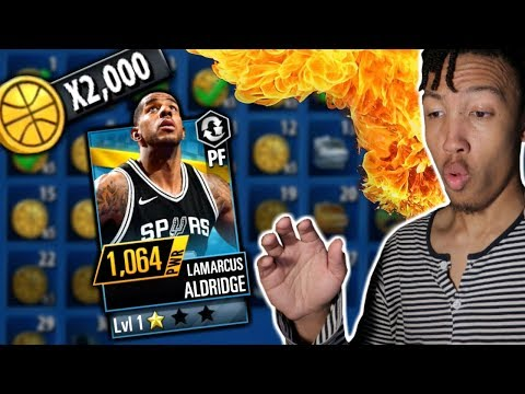 PULLED MY FIRST GOLD CARD & HOW TO MAKE COINS! (NBA 2k Mobile)