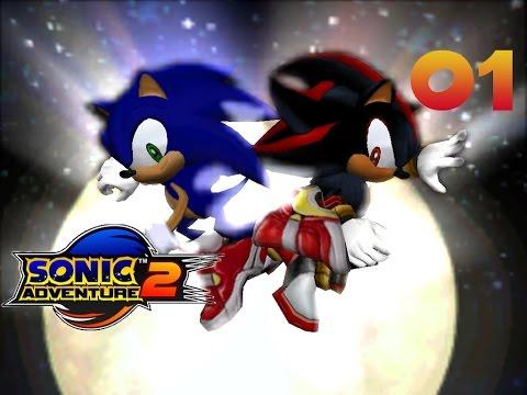 Sonic Adventure 2 - Прохождение #01 (PC)