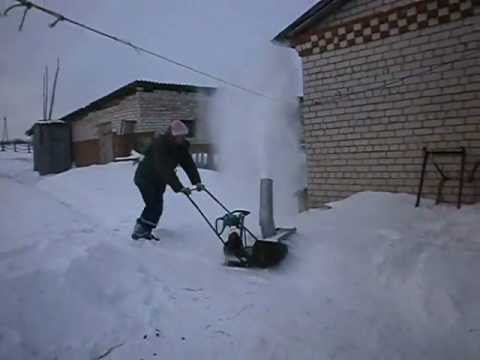 снегоочиститель для мотоблока нева своими руками