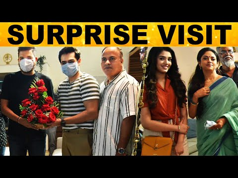 Shooting Spot-க்கு Surprise Visit கொடுத்த பிரமாண்ட இயக்குனர் Shankar   Kollywood   Tollywood   News