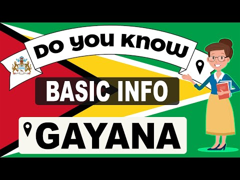 Do You Know Guyana Basic Information | World Countries Information #74 - General Knowledge & Quizzes