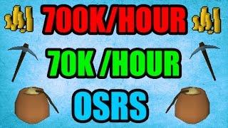 Blast Mine Guide 700K/Hour / 70K Mining Exp/H Old school Runescape 2007 ( OSRS )