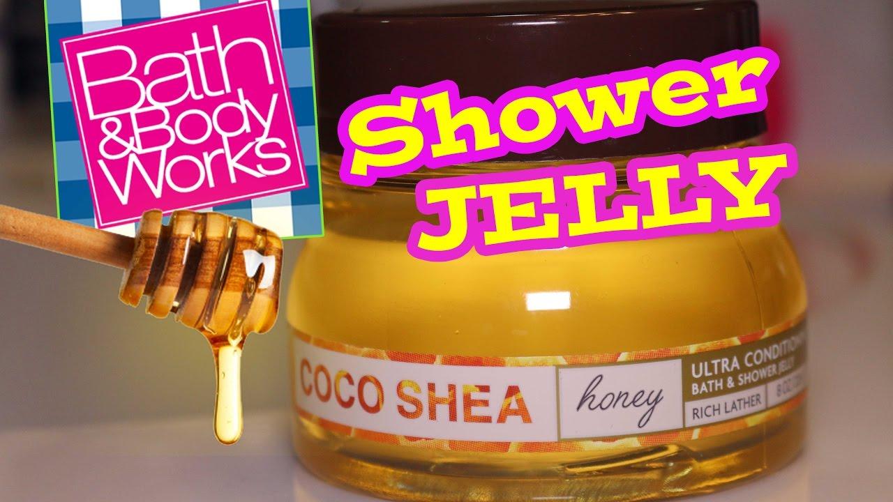 Bath Body Works NEW Coco Shea Honey SHOWER JELLY Review Demo