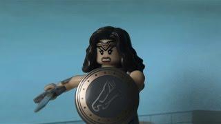 LEGO Wonder Woman TV Spot Re-creation