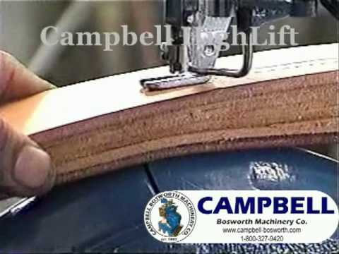 Campbell High Lift Sewing Machine YouTube Magnificent Heavy Duty Sewing Machine For Sale