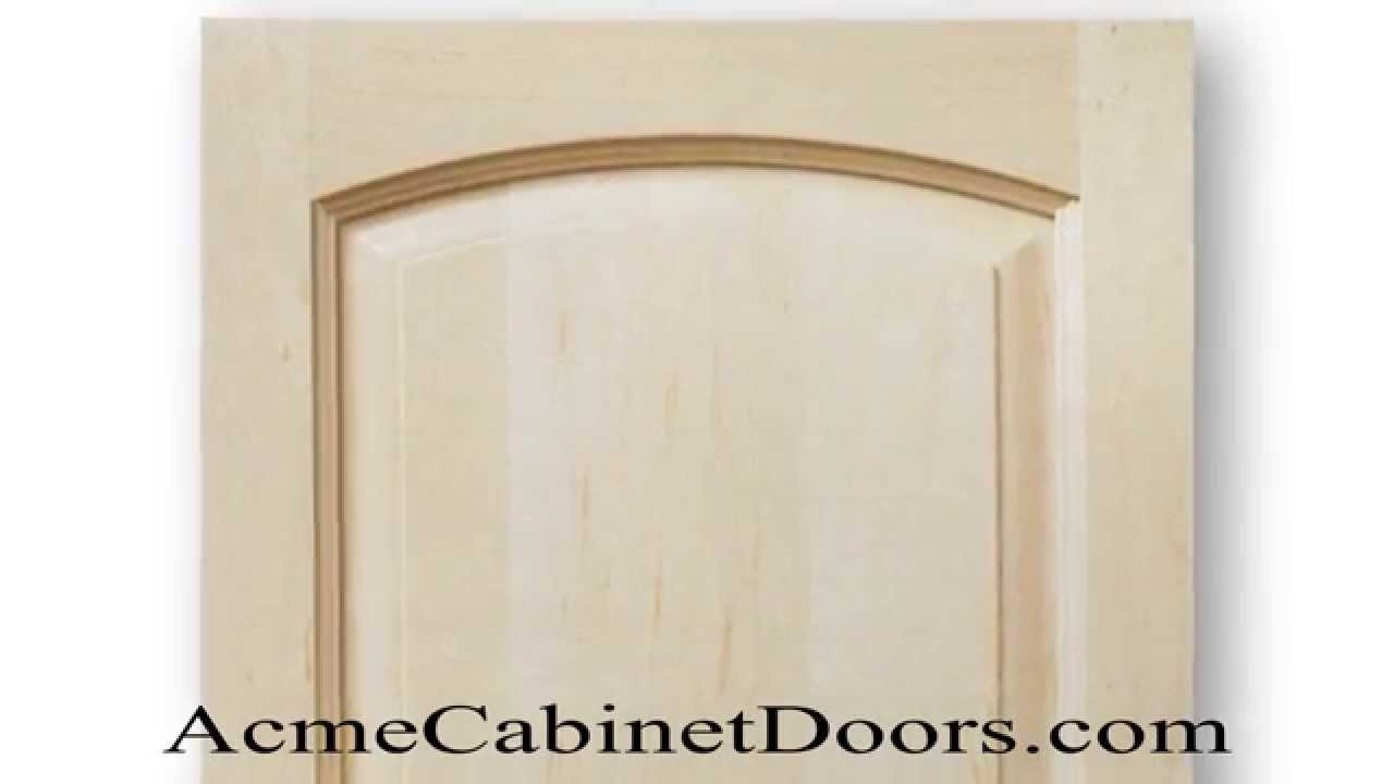 Unfinished Maple Juliano Arched Raised Panel Cabinet Door - YouTube