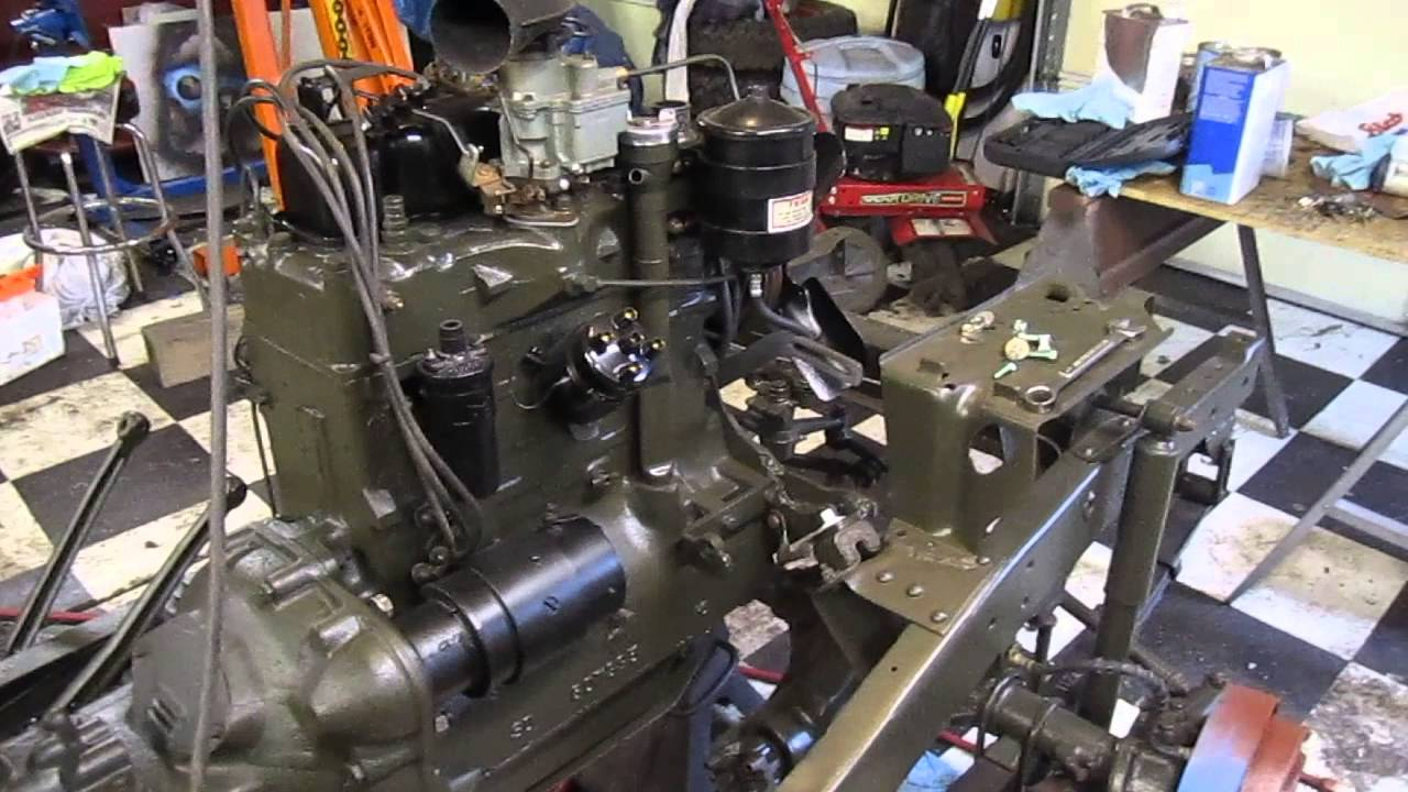 1962 willys jeep restoration - YouTube