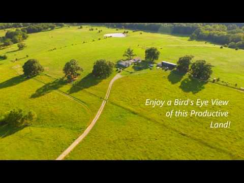 160 Acre Ranch for Sale Near Atoka, Oklahoma