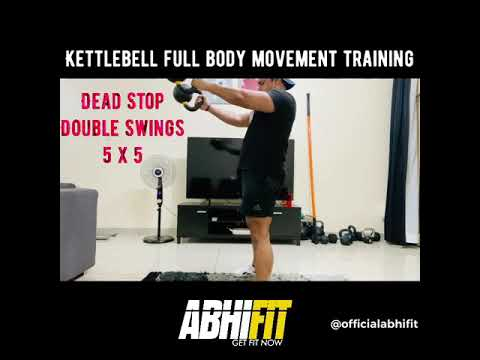 KETTLESTORM - Kettlebell Full Body Movement Training by Abhinav Malhotra