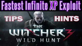 The Witcher 3 - Infinite XP Level Up Glitch | Patch 1.20 | Unlimited XP Exploit | Still Works