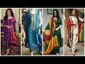 Stylish Indian boutique style chunri suit, dresses, dupatta Designes