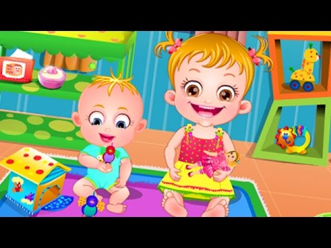 Baby Hazel Babysitting Compilation - Baby Games for Kids and Babies - Dora The Explorer