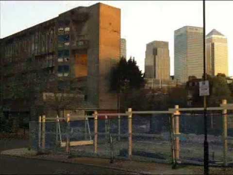 Demolition of Robin Hood Gardens