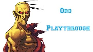 Street Fighter III: 3rd Strike - Oro Playthrough