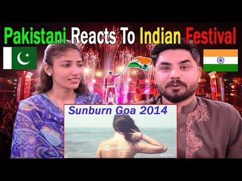 Pakistani Reacts To | Indian Sunburn Goa 2014 | Biggest Music Festival In Asia | India