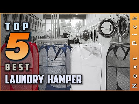 Top 5 Best Laundry Hampers Review in 2021