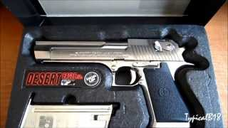 Tokyo Marui Desert Eagle .50AE Chrome Stainless Steel Hard Kick Blow Back Airsoft Pistol