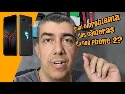 Qual o problema das câmeras do Asus ROG Phone II?
