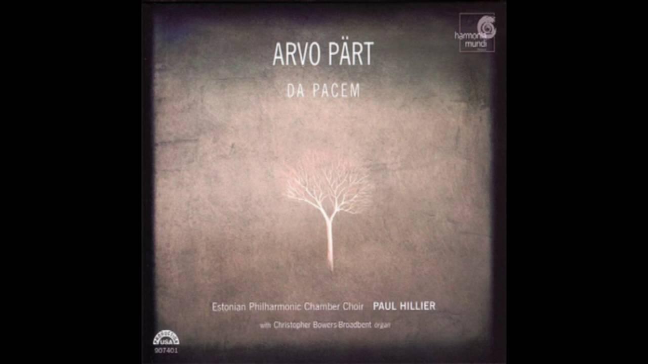 Download Arvo Pärt - Da Pacem [Estonian Philharmonic Chamber Choir/Paul Hillier] (2006)
