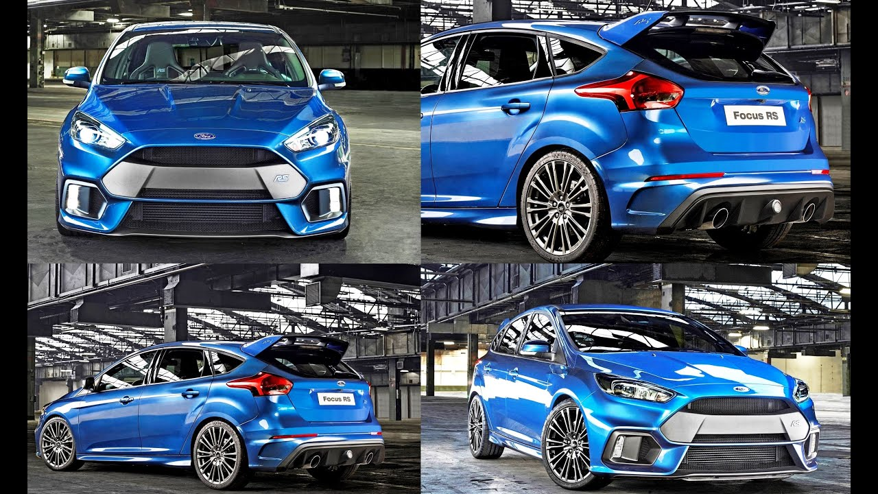 2016 ford focus rs official reveal with ken block drifting youtube. Black Bedroom Furniture Sets. Home Design Ideas