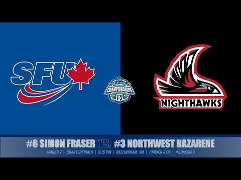 GNAC Quarterfinals | Simon Fraser vs. Northwest Nazarene