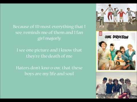 What Makes You Beautiful - One Direction Fan Lyrics