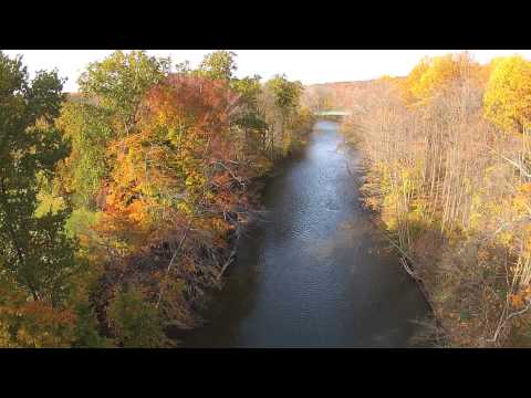 Nature Portraits: Northeast Ohio Autumn Aerial