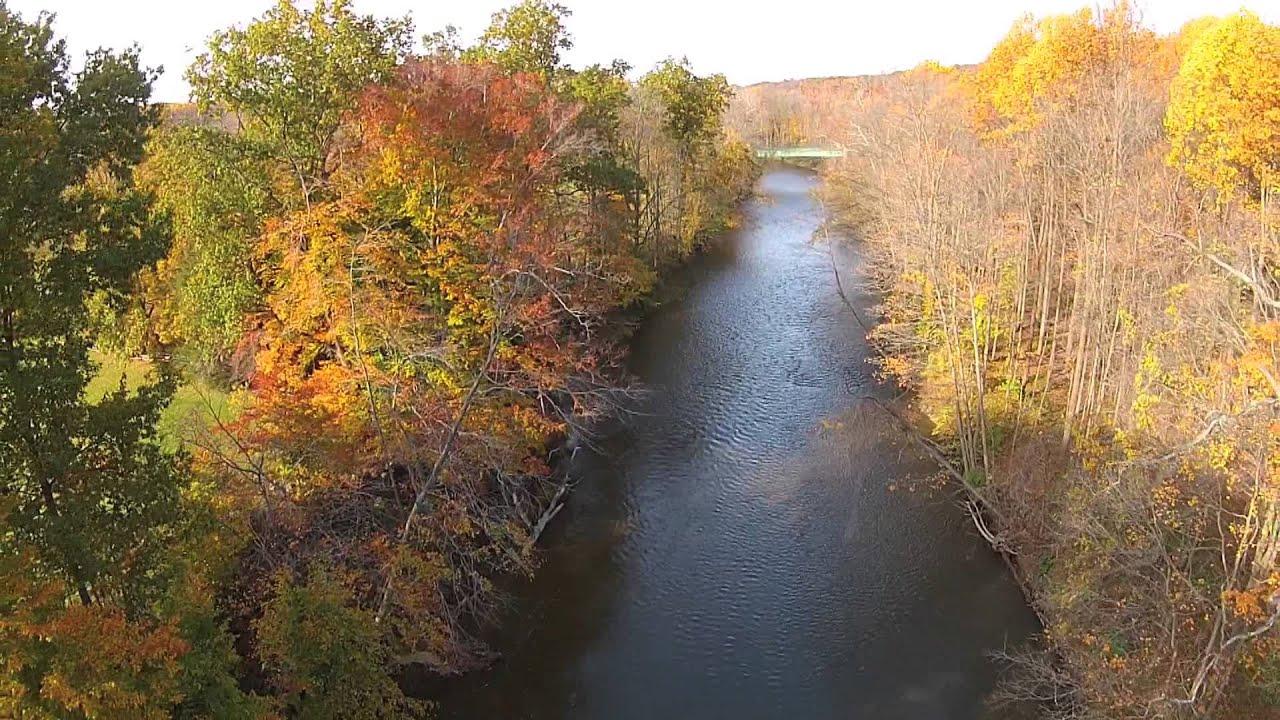 Nature Portraits: Northeast Ohio Autumn Aerial