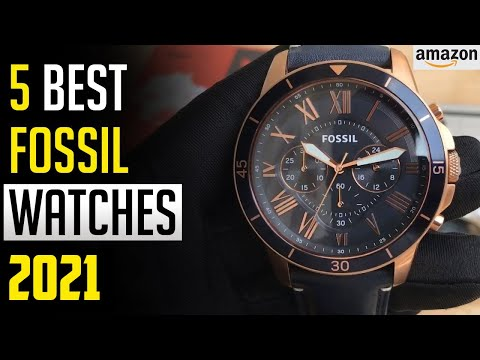 Fossil Watch - Top 5 Best Fossil Watches In 2020