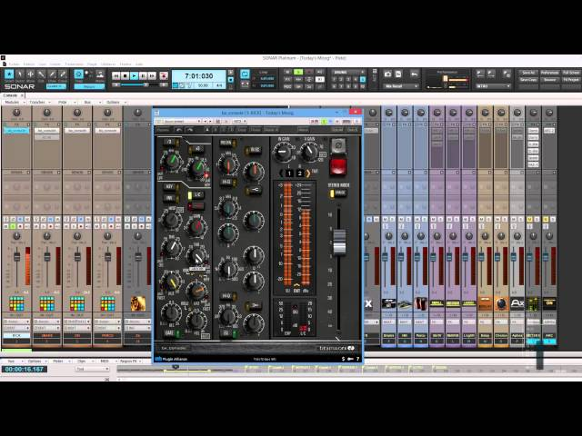Brainworx bx_console : mixing with the beast !! (deep use )