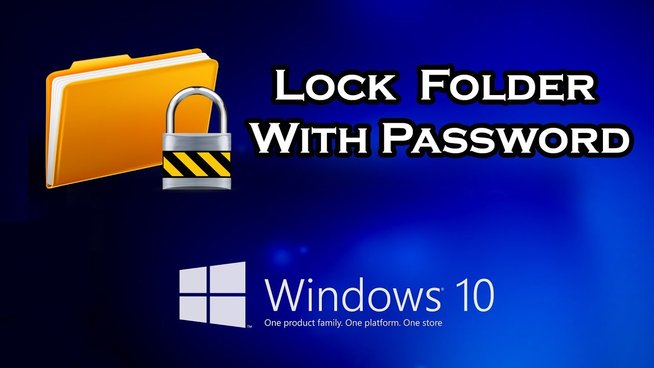 How to Lock a Folder Using a Batch File