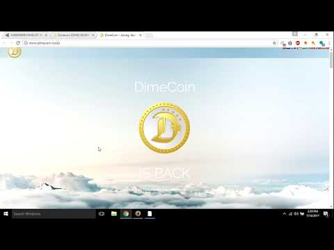 what is dimecoin