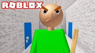Baldi's Basic in Education and Learning en Roblox!!!