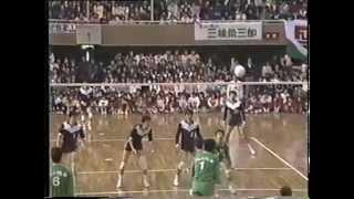 第19回バレーボール日本リーグ男子『富士フィルム』vs『日本鋼管(NKK)』第三戦