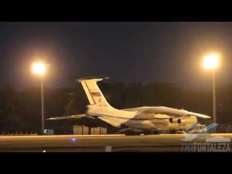 [SBFZ/ FOR] VI Cúpula do BRICS-Pouso & Decolagem Ilyushin IL76 RA-78838 224th Flight Unit 13/07/2014