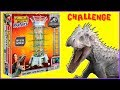Jurassic World KERPLUNK w/ RAPTORS Dinosaur Board Game Challenge - Toy Dinosaurs Video