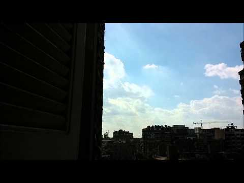 Autumnal Day At Cairo City , Egypt 31/10/2014 Timelapse