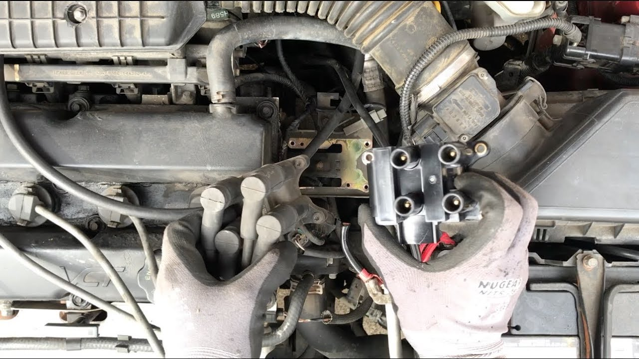 hight resolution of 1999 ford contour fixing misfire by replacing coil pack