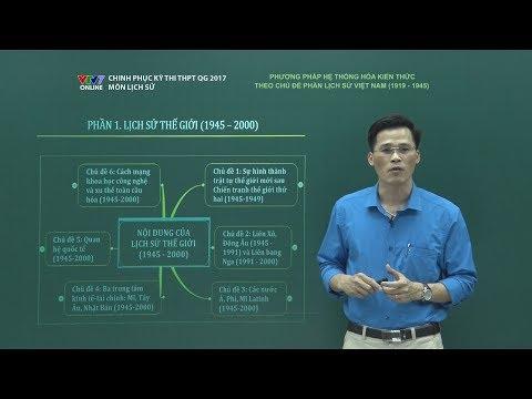 CHINH PHỤC KỲ THI   Lịch sử   Lịch sử Việt Nam (1919 - 1945)