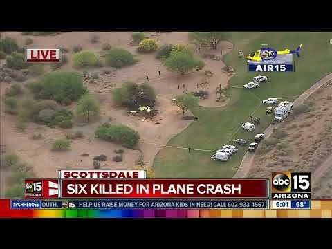 Deadly plane crash in Scottsdale, Arizona: Air15 video
