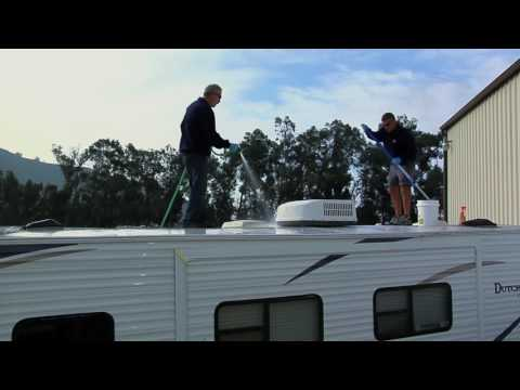 Rubber RV Roof Maintenance