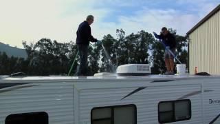 Rubber RV Roof Maintenance