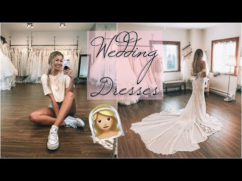 Trying Wedding Dresses!! (dan Don't Watch This) + Cake Tasting!
