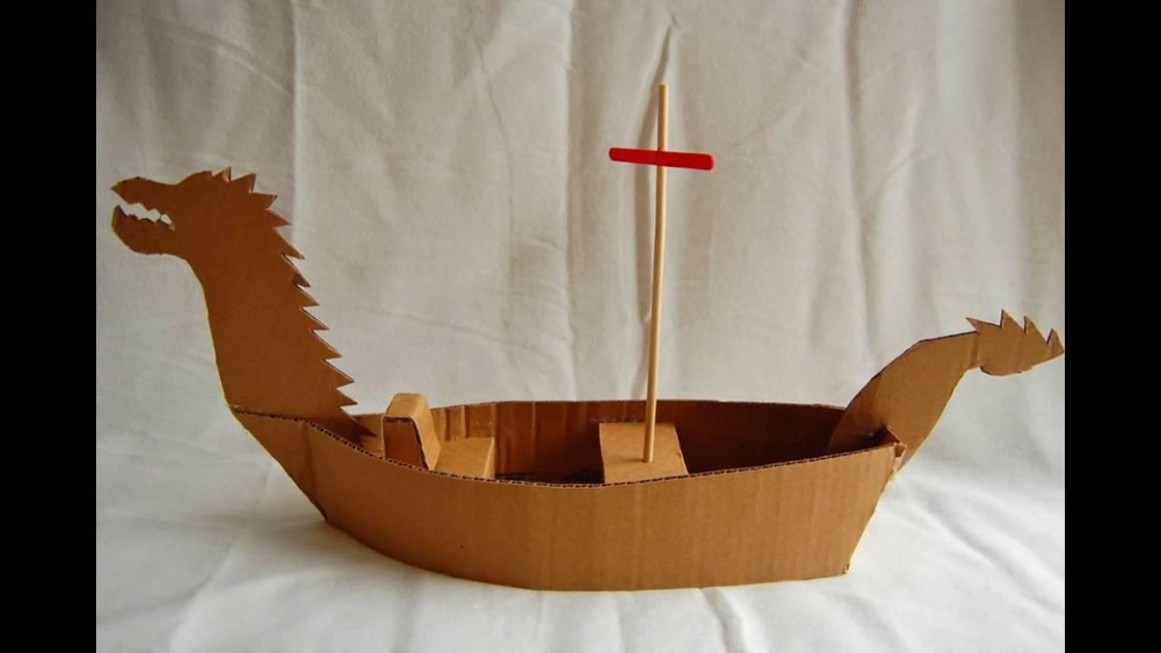 Сделать кораблик из картона своими руками